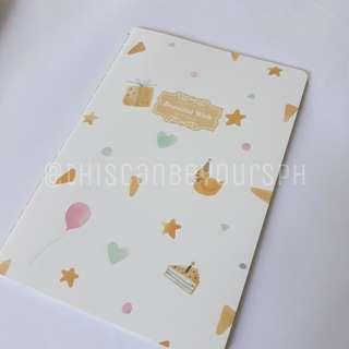 Cute Yellow Notebook