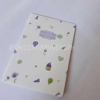 Cute Violet Notebook