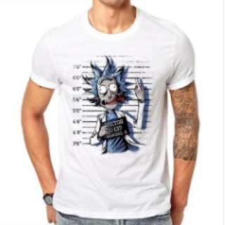 100% Cotton Rick and Morty Design T-Shirt