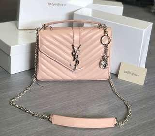 YSL Sling Bag Rose Pink (High Grade 5AAA)
