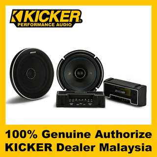 "KICKER Q-Class 6.75"" 2-Way Coaxial Speaker - QSC674"