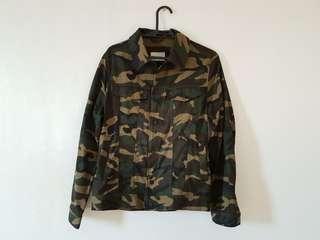 Zara Man Camo Print Jacket (M)