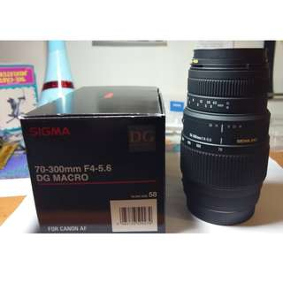 zoom lens for canon