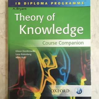 Oxford Theory Of Knowledge Course Companion