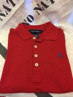 🚚 Ralph Lauren size:5 polo 衫