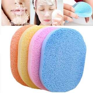 BNIP Exfoliator Cleansing Facial / Make-up Remover Sponge (Blue)