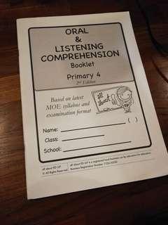 Primary 4 Oral & Listening Comprehension Booklet