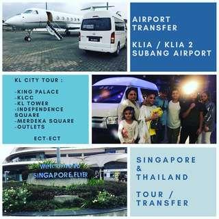 airport taxi / van rental / car rental / klia taxi