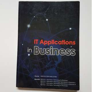 IT Applications in Business