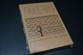 "Take-off ""this wont save the world"""