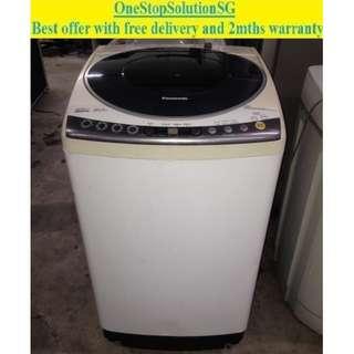 Panasonic 9.0kg (Inverter) Washing machine / washer ($240 + free delivery & 2mths warranty)