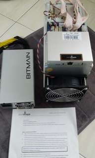 Bitmain Antminer T9+ Brand new with original PSU 10.5th bitcoin miner
