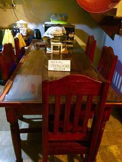 Dining wooden table