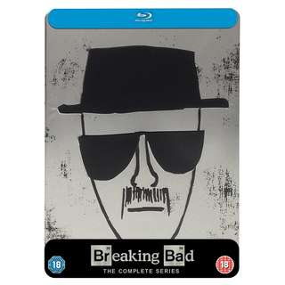 Breaking Bad The Complete Seasons Steel Box Limited Edition Blu-ray Bluray