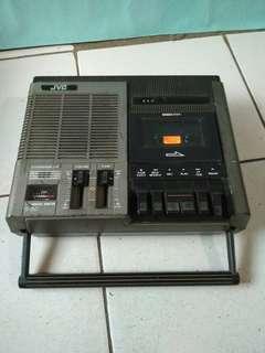 Jvc cassette recorderr jadul