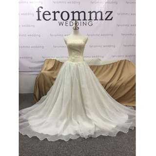 Photoshoot/Wedding Gown