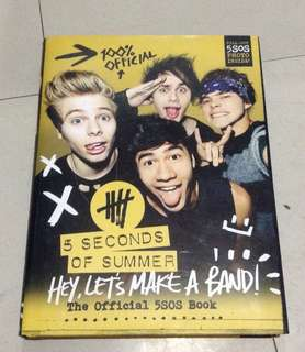 5 Seconds of Summer The Official 5SOS Book