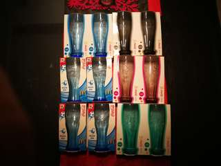 Coke glasses 13 pieces@$15