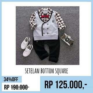 Setelan botton square