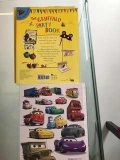 Hard cover cars book