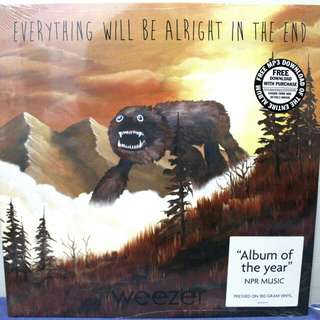 Vinyl - Weezer, Everything Will Be Alright in the End