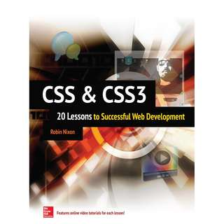 CSS and CSS3 20 Lessons to Successful Web Development
