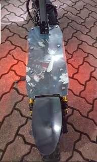 UU V2 C Clamp Suspension Escooter