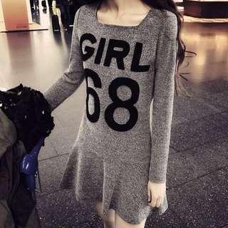 🚚 針織連衣裙♡