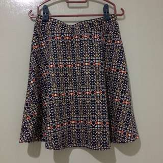 H&M Pattern Skirt #20Under