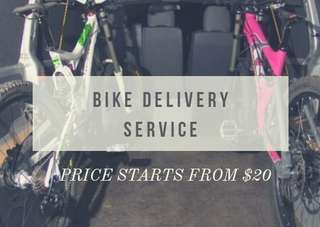 Bicycle delivery/ferry