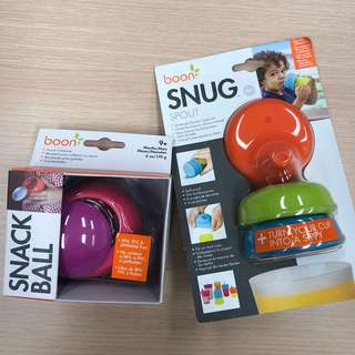 Boon Bundle - Snug Spout & Snack Ball