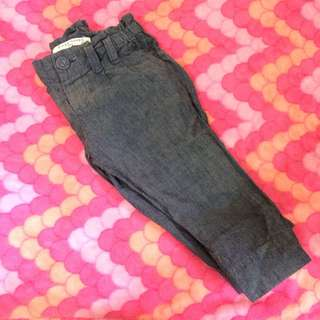 Maong trousers fits 12-18mos