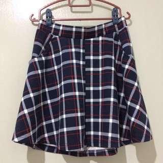 Cotton On Plaid Checkered Skirt