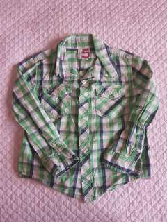 Cotton On Plaid Shirt / Kemeja Budak