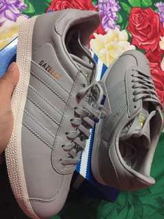Adidas Gazelle Grey Women Original New