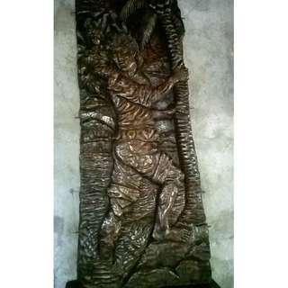 Big Wood Sculpture