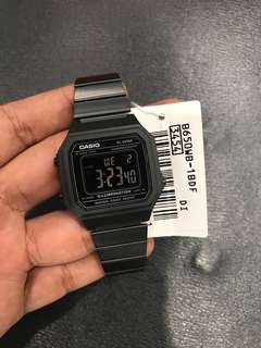 Brand New Black Out Casio Digital Watch Steel Watch FREE DELIVERY