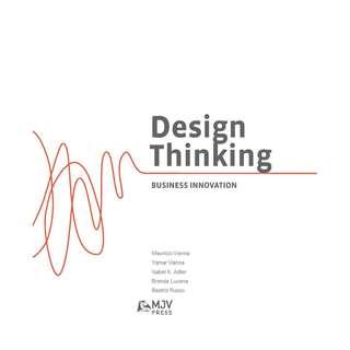 Design Thinking Business Innovation