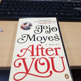 After You by Jojo Moyes (Me Before You #2)