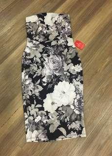 ASOS Floral Tube dress
