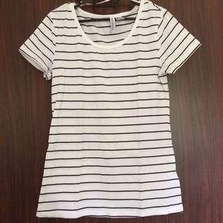 H&M Basic Stripe Shirt