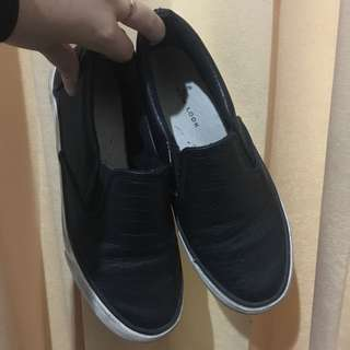 loafers slip on new look sepatu flat