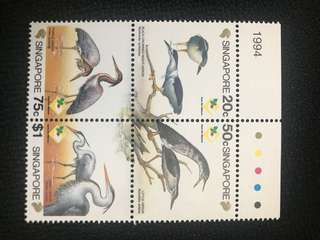 新加坡鳥邮票