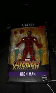 Marvel Legends Iron Man Thanos BAF