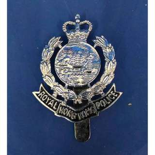 Royal Hong Kong police 襟章 (殖民地時期)皇家香港警察