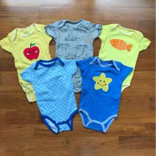 Carter Bodysuits (9 months)
