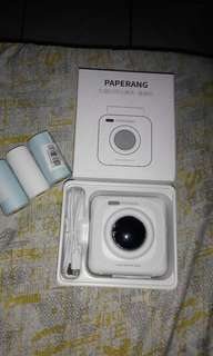 Paperang photo printer with free protective case
