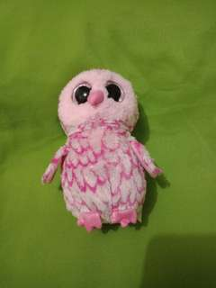 TY OWL PINK