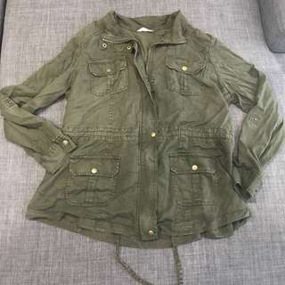 Marks and Spencer Army Green Parka