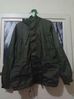 Jacket Semi - Parka Easthood Green Army